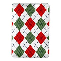 Red Green White Argyle Navy Kindle Fire Hdx 8 9  Hardshell Case