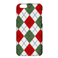 Red Green White Argyle Navy Apple Iphone 6 Plus/6s Plus Hardshell Case