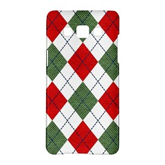 Red Green White Argyle Navy Samsung Galaxy A5 Hardshell Case
