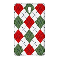 Red Green White Argyle Navy Samsung Galaxy Tab S (8.4 ) Hardshell Case