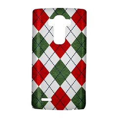 Red Green White Argyle Navy LG G4 Hardshell Case
