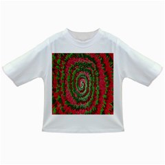 Red Green Swirl Twirl Colorful Infant/Toddler T-Shirts