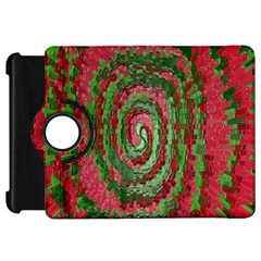 Red Green Swirl Twirl Colorful Kindle Fire HD 7