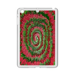 Red Green Swirl Twirl Colorful Ipad Mini 2 Enamel Coated Cases