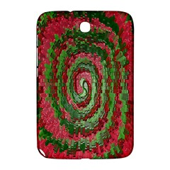 Red Green Swirl Twirl Colorful Samsung Galaxy Note 8 0 N5100 Hardshell Case