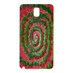 Red Green Swirl Twirl Colorful Samsung Galaxy Note 3 N9005 Hardshell Back Case