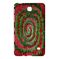 Red Green Swirl Twirl Colorful Samsung Galaxy Tab 4 (7 ) Hardshell Case