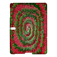 Red Green Swirl Twirl Colorful Samsung Galaxy Tab S (10.5 ) Hardshell Case