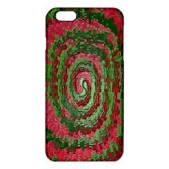 Red Green Swirl Twirl Colorful iPhone 6 Plus/6S Plus TPU Case