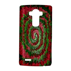 Red Green Swirl Twirl Colorful LG G4 Hardshell Case