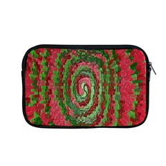 Red Green Swirl Twirl Colorful Apple MacBook Pro 13  Zipper Case