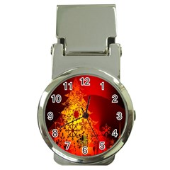 Red Silhouette Star Money Clip Watches