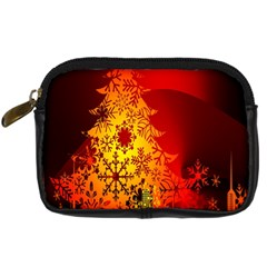 Red Silhouette Star Digital Camera Cases
