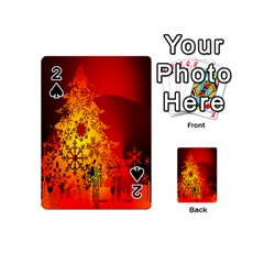 Red Silhouette Star Playing Cards 54 (mini)