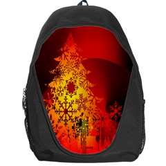 Red Silhouette Star Backpack Bag