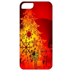 Red Silhouette Star Apple iPhone 5 Classic Hardshell Case