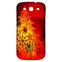 Red Silhouette Star Samsung Galaxy S3 S Iii Classic Hardshell Back Case