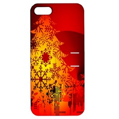 Red Silhouette Star Apple Iphone 5 Hardshell Case With Stand