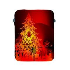 Red Silhouette Star Apple Ipad 2/3/4 Protective Soft Cases