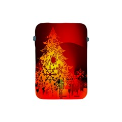 Red Silhouette Star Apple Ipad Mini Protective Soft Cases