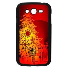 Red Silhouette Star Samsung Galaxy Grand Duos I9082 Case (black)