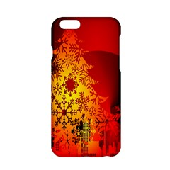 Red Silhouette Star Apple Iphone 6/6s Hardshell Case