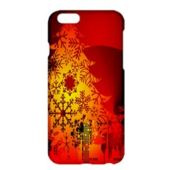 Red Silhouette Star Apple Iphone 6 Plus/6s Plus Hardshell Case