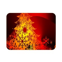 Red Silhouette Star Double Sided Flano Blanket (mini)