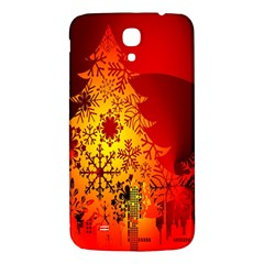 Red Silhouette Star Samsung Galaxy Mega I9200 Hardshell Back Case