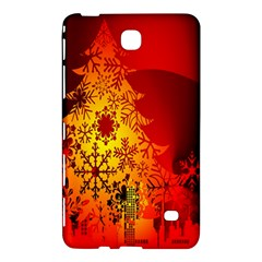 Red Silhouette Star Samsung Galaxy Tab 4 (8 ) Hardshell Case