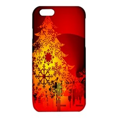 Red Silhouette Star iPhone 6/6S TPU Case