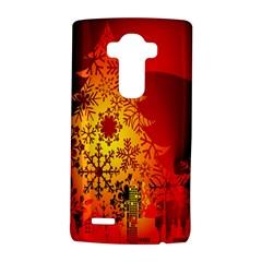 Red Silhouette Star LG G4 Hardshell Case