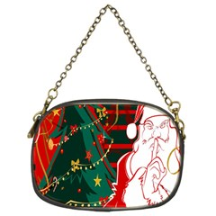 Santa Clause Xmas Chain Purses (Two Sides)