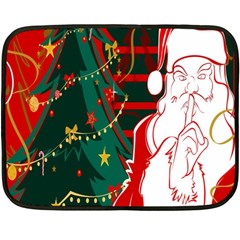 Santa Clause Xmas Fleece Blanket (Mini)