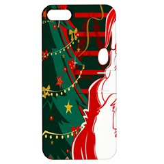 Santa Clause Xmas Apple iPhone 5 Hardshell Case with Stand