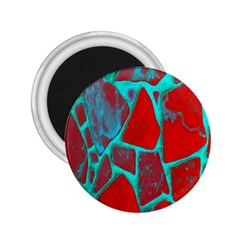 Red Marble Background 2 25  Magnets