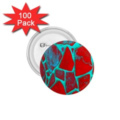 Red Marble Background 1 75  Buttons (100 Pack)