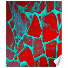 Red Marble Background Canvas 20  X 24
