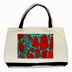 Red Marble Background Basic Tote Bag (Two Sides)