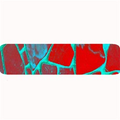 Red Marble Background Large Bar Mats