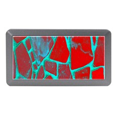 Red Marble Background Memory Card Reader (Mini)