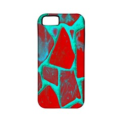 Red Marble Background Apple Iphone 5 Classic Hardshell Case (pc+silicone)