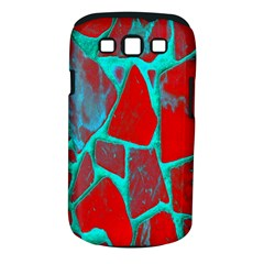 Red Marble Background Samsung Galaxy S III Classic Hardshell Case (PC+Silicone)