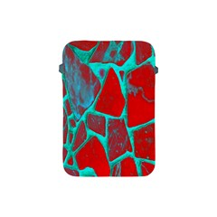 Red Marble Background Apple Ipad Mini Protective Soft Cases