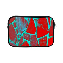 Red Marble Background Apple Ipad Mini Zipper Cases