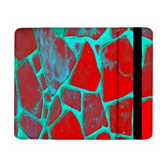 Red Marble Background Samsung Galaxy Tab Pro 8 4  Flip Case