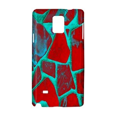 Red Marble Background Samsung Galaxy Note 4 Hardshell Case