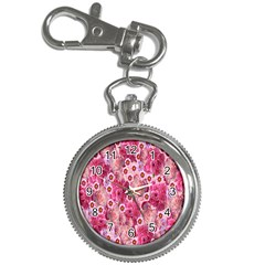 Roses Flowers Rose Blooms Nature Key Chain Watches