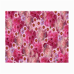 Roses Flowers Rose Blooms Nature Small Glasses Cloth (2 Side)