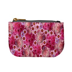 Roses Flowers Rose Blooms Nature Mini Coin Purses